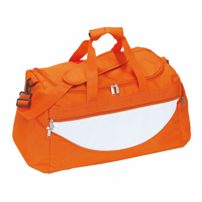Picture of SPORTS BAG CHAMP in Orange & White
