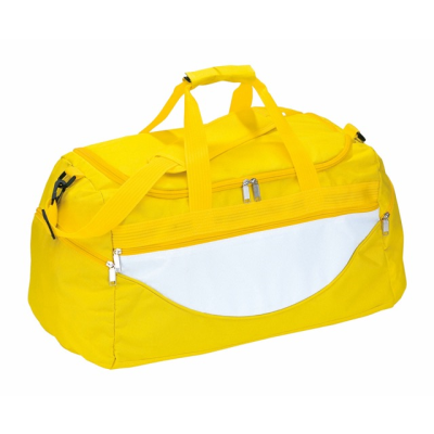 Picture of SPORTS BAG CHAMP in Yellow & White