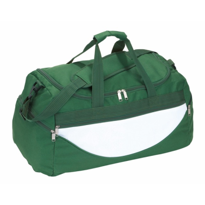 Picture of SPORTS BAG CHAMP in Green & White