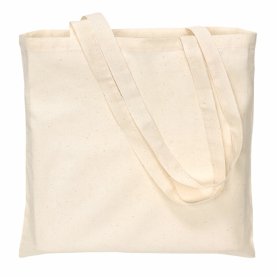 Picture of COTTON SHOPPER TOTE BAG with Long Handles