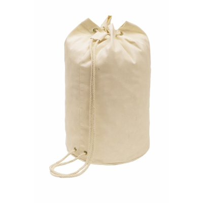 Picture of COTTON DUFFLE BAG in Eco Friendly Natural Cotton