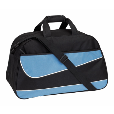 Picture of PEP SPORTS BAG HOLDALL in Black & Blue