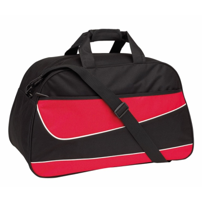 Picture of PEP SPORTS BAG HOLDALL in Black & Red