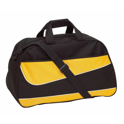 Picture of PEP SPORTS BAG HOLDALL in Black & Yellow
