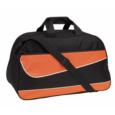 Picture of PEP SPORTS BAG HOLDALL in Black & Orange