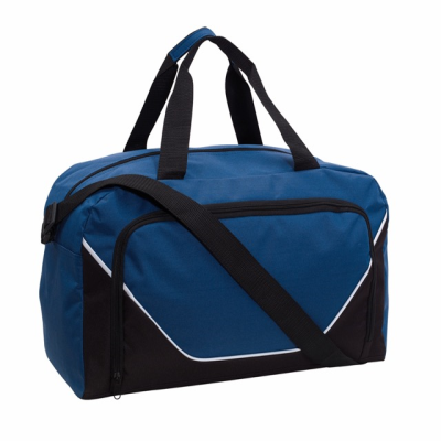 Picture of JORDAN SPORTS BAG HOLDALL in Blue & Black