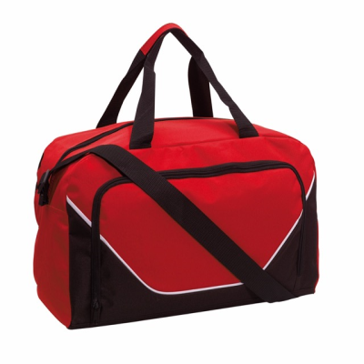 Picture of JORDAN SPORTS BAG HOLDALL in Red & Black