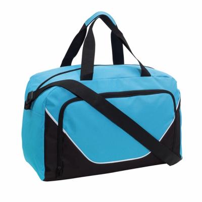Picture of JORDAN SPORTS BAG HOLDALL in Light Blue & Black