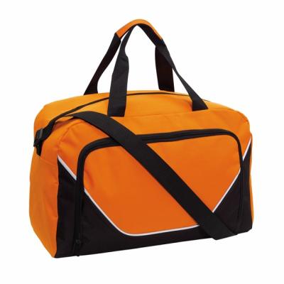 Picture of JORDAN SPORTS BAG HOLDALL in Orange & Black
