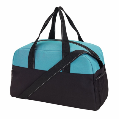 Picture of FITNESS 30 SPORTS BAG in Black & Turquoise