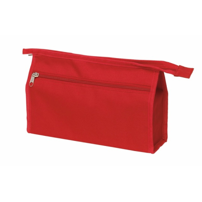 Picture of TOILETRY WASH BAG in Red