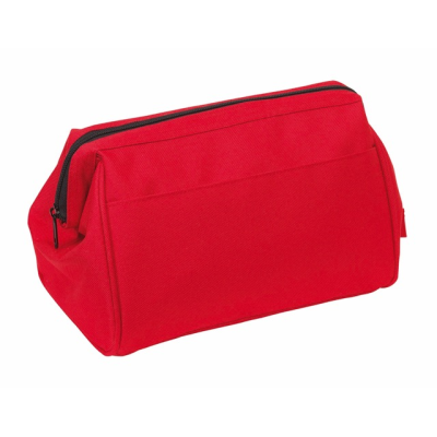 Picture of DAYBREAK VANITY CASE TOILETRY WASH BAG in Red