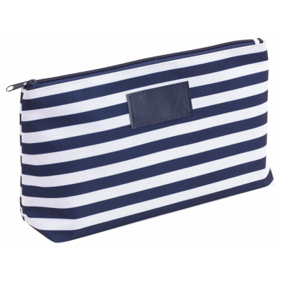 Picture of STRIPY WASH BAG in Blue