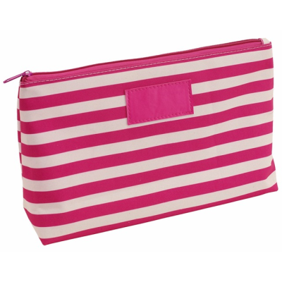 Picture of STRIPY WASH BAG in Pink