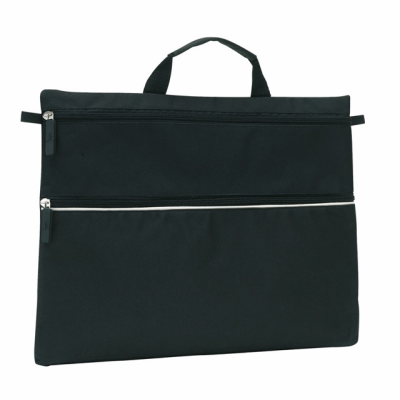 Picture of FILE DOCUMENT BUSINESS BAG in Black