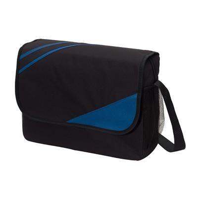 Picture of CITY EXHIBITION SHOULDER BAG in Black & Blue