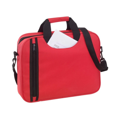 Picture of BUSY DOCUMENT BAG in Red