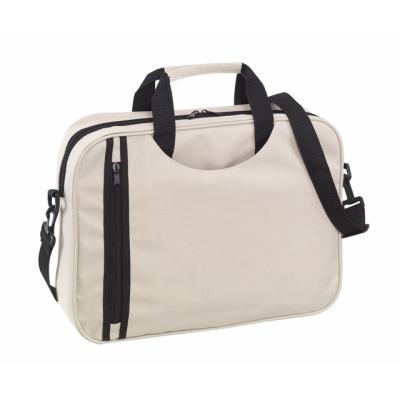 Picture of BUSY DOCUMENT BAG in Beige