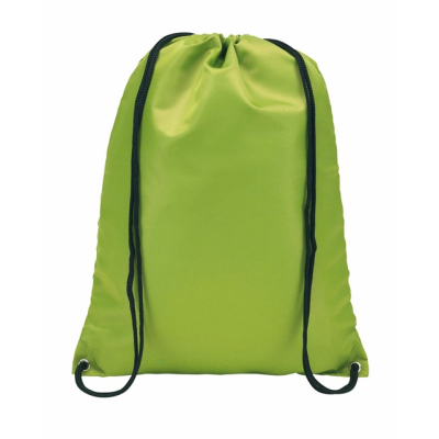 Picture of TOWN DRAWSTRING BACKPACK RUCKSACK in Pale Green