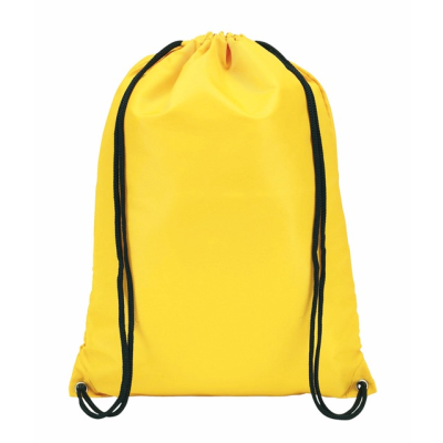Picture of TOWN DRAWSTRING BACKPACK RUCKSACK in Yellow