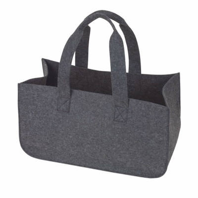 Picture of HOMY FELT FIREWOOD BAG in Grey