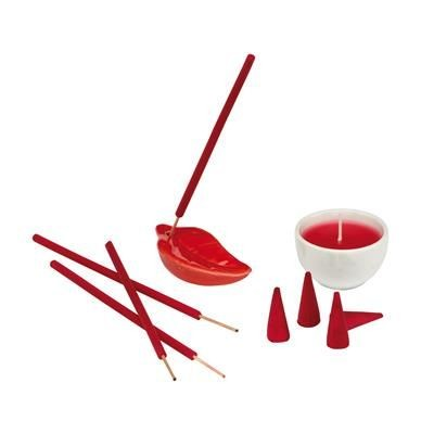 Picture of NUANCE STRAWBERRY CANDLE SET