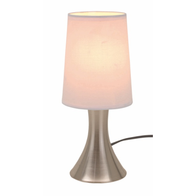 Picture of TOUCH ME TABLE LAMP in Silver & White