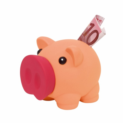 Picture of MONEY COLLECTOR PIG MONEY BOX PIGGY BANK in Pink