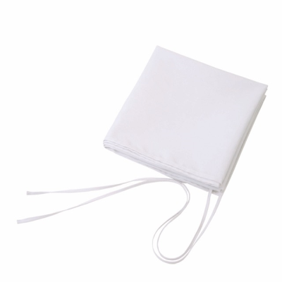Picture of BAR WAIST APRON with Long Strings in White