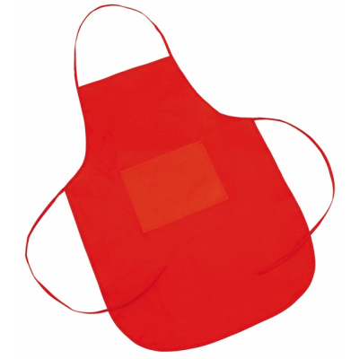 Picture of CATERING CHEFS BIB APRON in Red