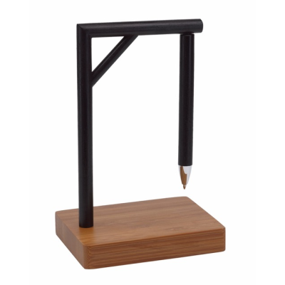 Picture of GIBBET MAGNETIC PEN HOLDER in Brown & Black