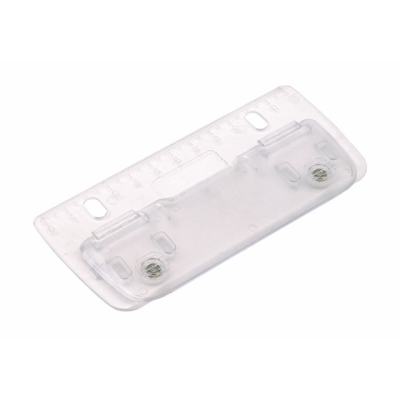 Picture of PAGE MINI HOLE PUNCH in Clear Transparent