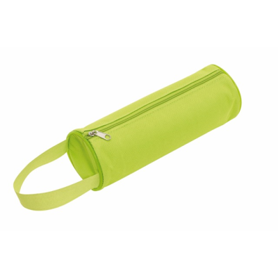 Picture of SCHOOL ROUND PENCIL CASE in Apple Green