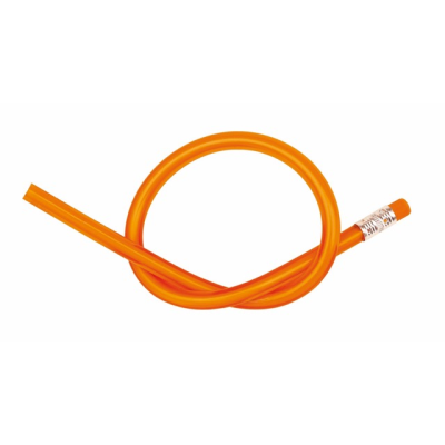 Picture of FLEXIBLE BENDY PENCIL in Orange