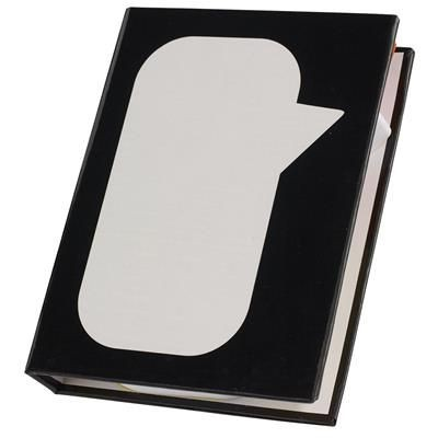Picture of MEMO BOX SPEECH BUBBLE in Black