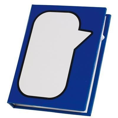 Picture of MEMO BOX SPEECH BUBBLE in Blue