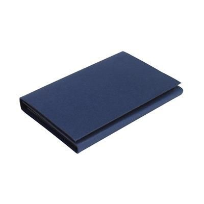 Picture of STICK & CALCULATOR MEMO PAD & CALCULATOR in Blue