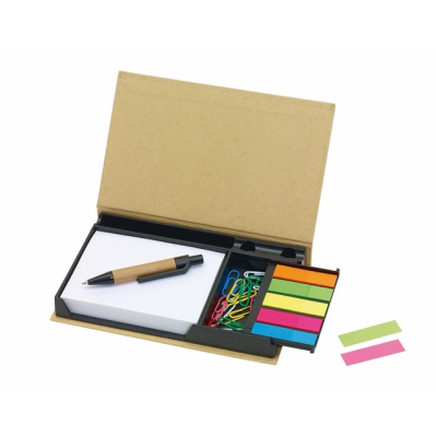 Picture of DRAWER NOTE BOX in Brown