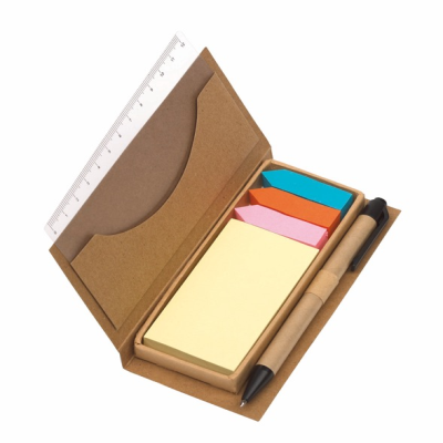 Picture of STICK IT MEMOBOX in Brown