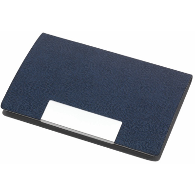 Picture of ATLAS BUSINESS CARD HOLDER in Blue