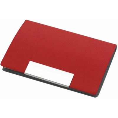 Picture of ATLAS BUSINESS CARD HOLDER in Red