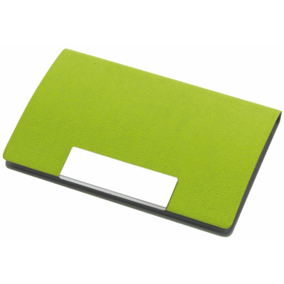 Picture of ATLAS BUSINESS CARD HOLDER in Green
