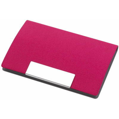 Picture of ATLAS BUSINESS CARD HOLDER in Magenta