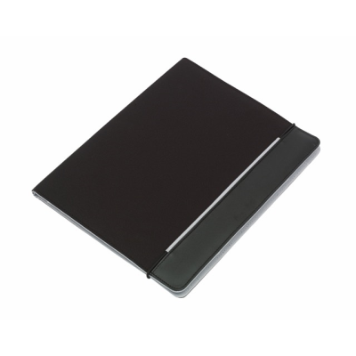 Picture of YOUNG STAR MICROFIBRE CONFERENCE FOLDER in Black & Grey