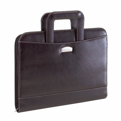 Picture of NOBLESSE PORTFOLIO CONFERENCE FOLDER & RING BINDER in Black