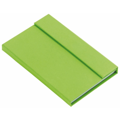 Picture of LITTLE NOTES NOTE BOOK in Apple Green