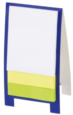 Picture of ADVERT MINI DISPLAY STAND in Blue