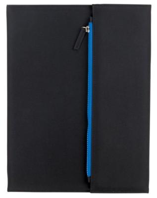 Picture of ZIPPER PORTFOLIO in Black & Blue