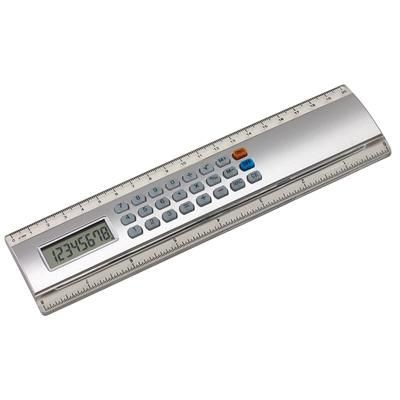 Picture of CALCULATOR RULER in Silver