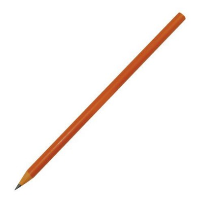 Picture of RECYCLED PENCIL in Orange